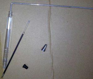 ساختن انتن ردیاب با لوله خودکار