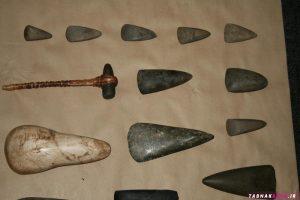 ابزار ساخته شده در عصر سنگ