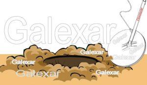پیدا کردن فلز کوچک داخل خاک با فلزیاب گلکسار