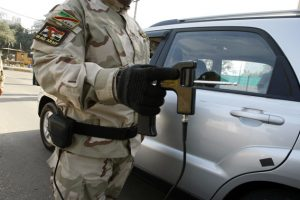 استفاده از ردیاب توسط ارتش در عراق در سال 2010.