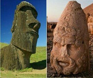 پیدا کردن گنج داخل سنگ یا مجسمه سنگی