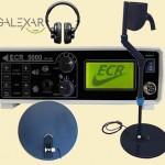 فلزیاب و گنج یاب حرفه ای گلکسار مدل ECR5000