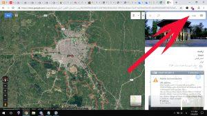 نقشه شهر رشت در گوگل مپ